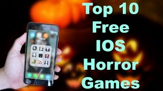 Top 10 Free IOS Horror Games Halloween 2016