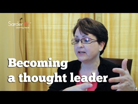 What are the seven steps to becoming a thought leader? by Denise Brosseau, Author