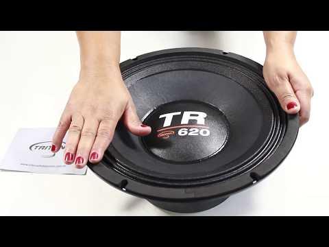 6e4c55060 Woofer 12 Polegadas Triton 620 Rms 12-TR620 1240w Pico - YouTube