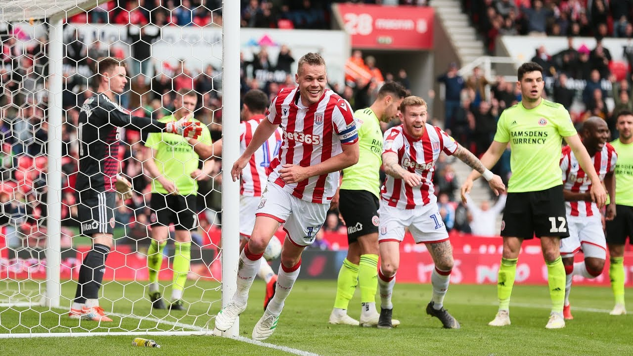 Highlights Stoke City V Sheffield United Youtube
