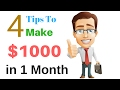 4 Ways To Make Money From Home in 2017  Hindi [How to Make Money online]