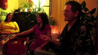 Steve Gorn teaches raga at Gina Sala's Shanti Shala
