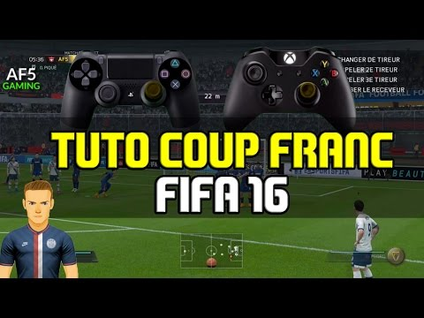 TUTO COUP FRANC FIFA 16 - 18 à 40m