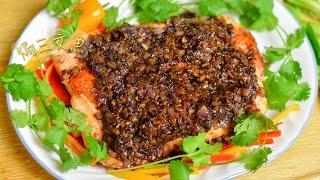 U 廚房 Kitchen | 星馬泰系列 | 焗三文魚(Baked salmon)