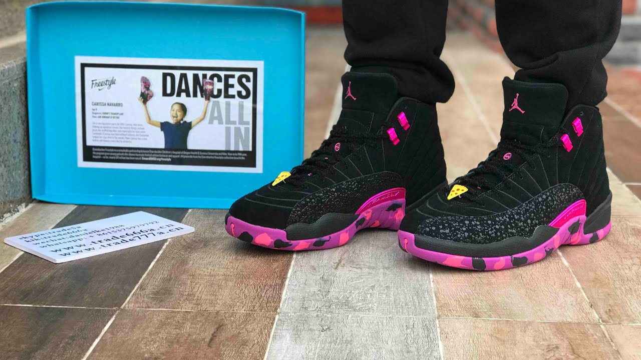 Air Jordan 12 DB Doernbecher Review and on foot Review - YouTube 9c532d09d