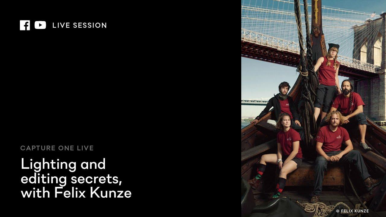 Capture One 20 Live: Edits | Lighting and editing secrets with Felix Kunze