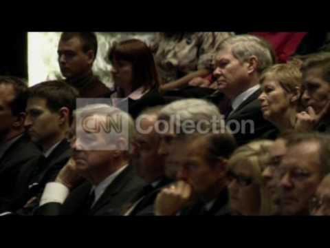 SD:SEN GEORGE MCGOVERN FUNERAL - CONSCIENCE