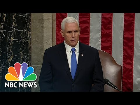 Congress Confirms Biden And Harris Electoral College Win | NBC News