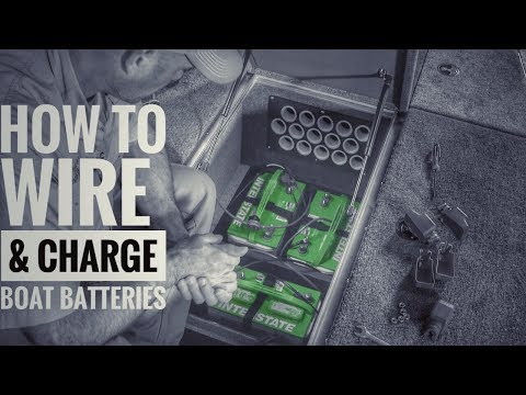 How to Install Boat Batteries and Onboard Chargers [36V