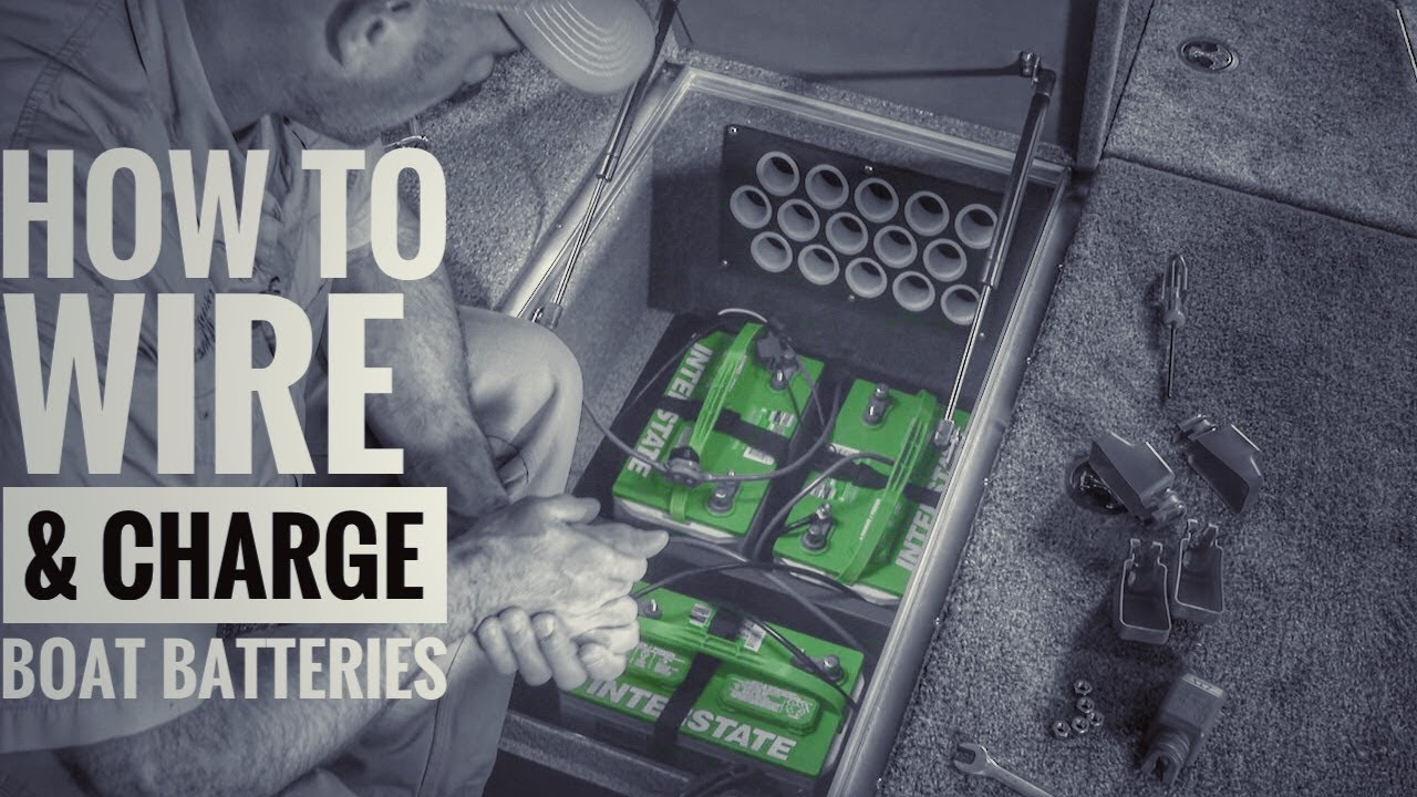 How To Install Boat Batteries And Onboard Chargers 36v