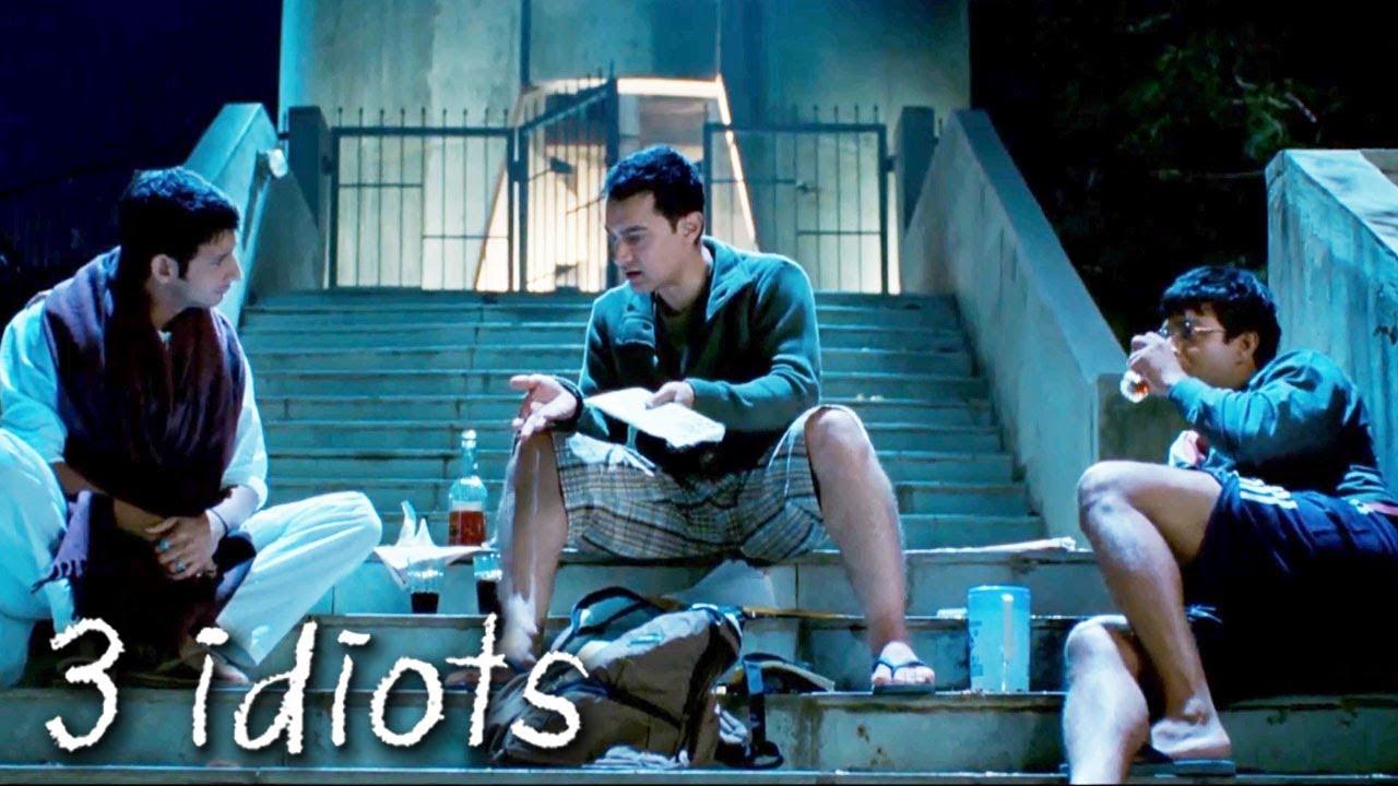 Download अरे फ्यूचर से इतना डरेगा तो क्या ख़ाक जियेगा | 3 Idiots | Aamir Khan, R. Madhavan, Sharman Joshi
