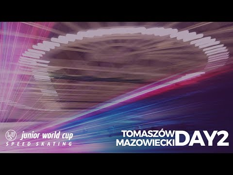ISU Junior World Cup Speed Skating - Tomaszów Mazowiecki POL (Day 2 )