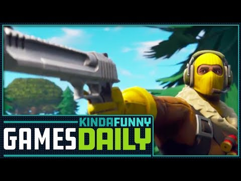 Too Many Battle Royale Games? - Kinda Funny Games Daily 04.10.18