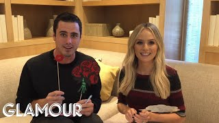 Ben and Lauren of The Bachelor Play the Pre-Newlywed Game | Glamour