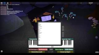 How to Play Steven Universe Theme - Roblox Piano