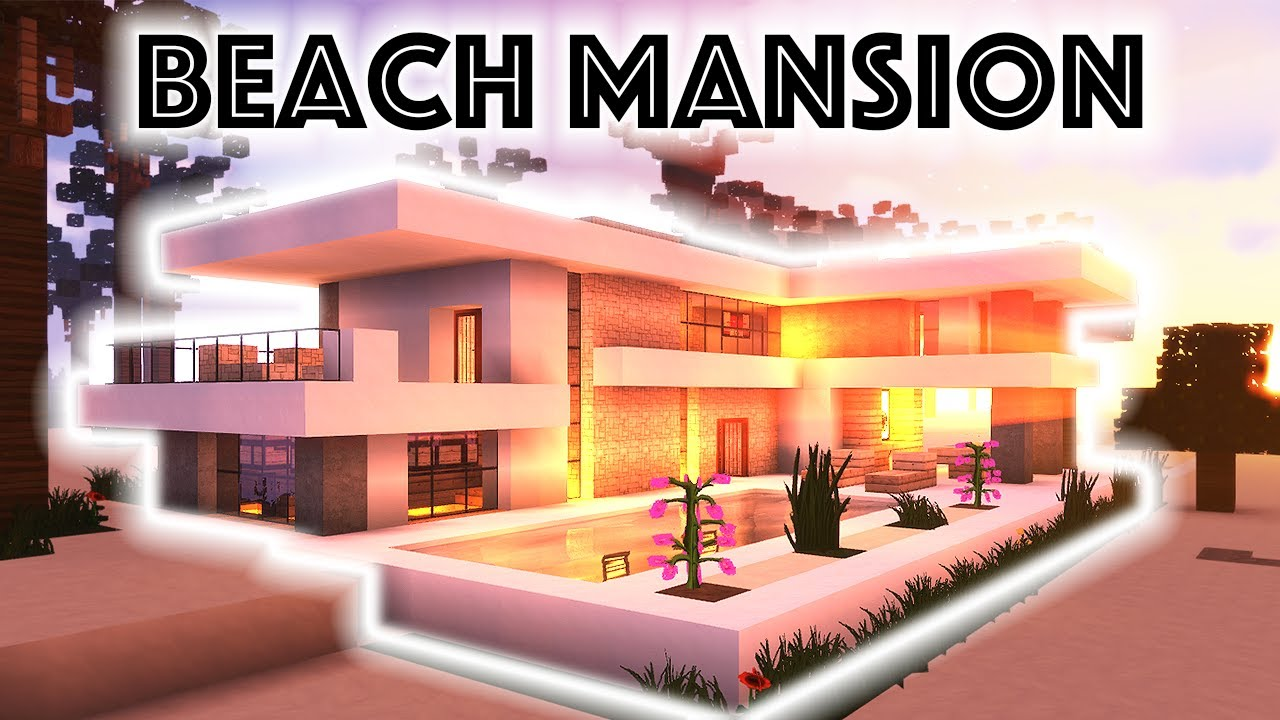 Kristy Sherman Modern House Minecraft Beach