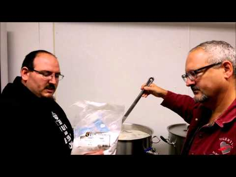 Imperial Brewing Company,  Electric brewing, ESB Brew Day