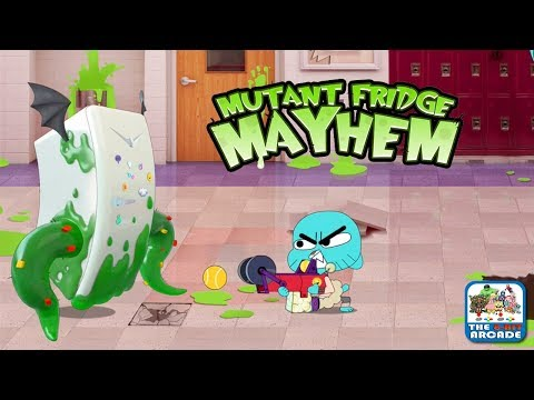 Gumball: Mutant Fridge Mayhem - Become The Savior Of Elmore (Cartoon Network Games)