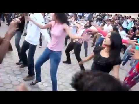 Flash mob @ Vizag Beach Roadorigina,india