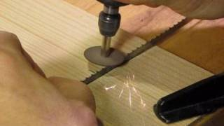 How To Sharpen A Bandsaw Blade