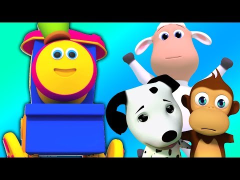 Wir gehen Lied | Kinder Reime | Bob The Train | 3D Nursery Rhymes | Learn with Bob | We Go Songs