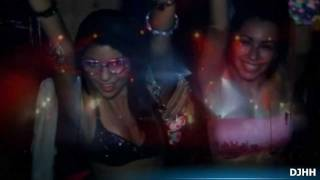 The woman of the Night Life Party DJHH Techno Trance House Music