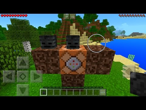 How To Spawn the Wither Storm Boss in Minecraft Pocket Edition (Wither Storm Addon)