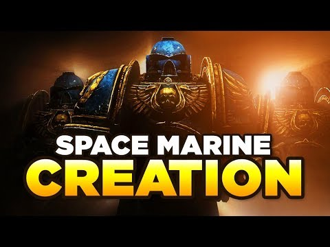 SPACE MARINE CREATION - Complete Guide on becoming an Astartes | WARHAMMER 40,000 Lore / History