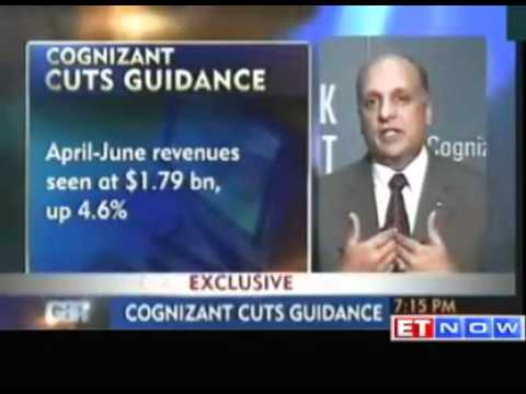 Cognizant cuts its revenue guidance