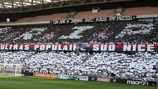 L'hommage de tout un peuple durant Nice - Rennes ( 14/08/16 )