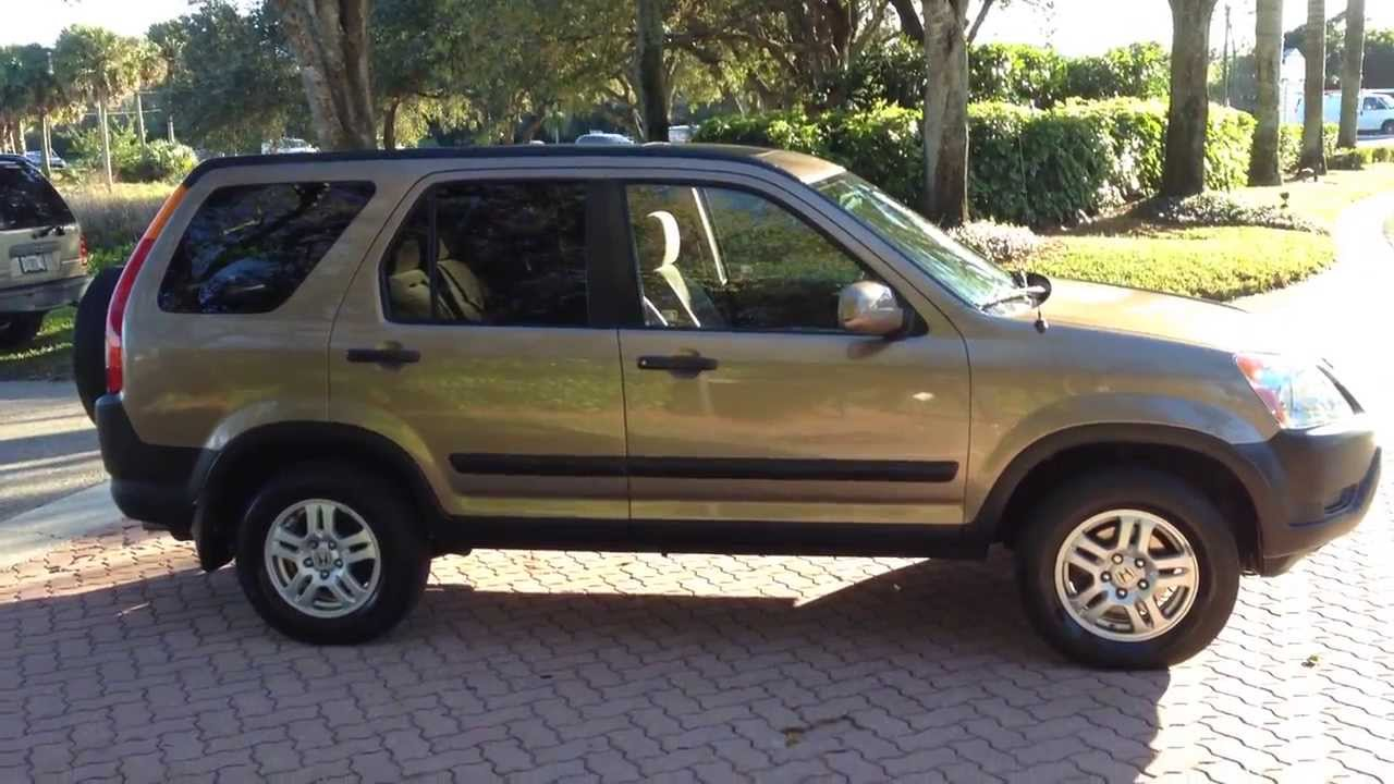 2003 Honda Cr V Awd View Our Current Inventory At Fortmyerswacom