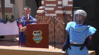 Cerificación Granada libre de minas (acto proocolario), abril 19 de 2018