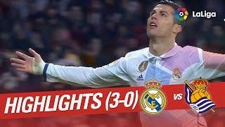 Resumen de Real Madrid vs Real Sociedad (3-0)