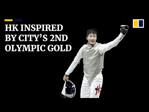 Fencer Edgar Cheung's Olympic gold victory triggers joy and inspiration in Hong Kong