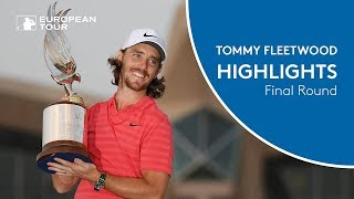 Tommy Fleetwood wins the 2018 Abu Dhabi HSBC Golf Championship | Final Round Highlights