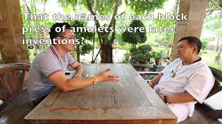 Khun Phaen 15 Ajarn Piarn Wit Interview Part 1 Krit Confirms