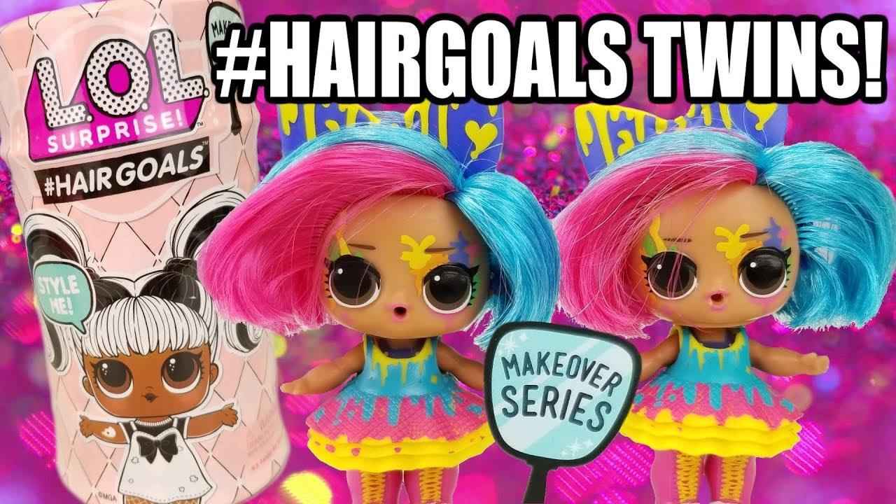 Lol Surprise Doll Splatters Hairgoals Makeover Hairspray Hair Goals Color change