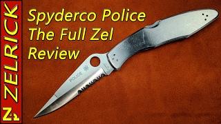 spyderco Police The Full Zel Review