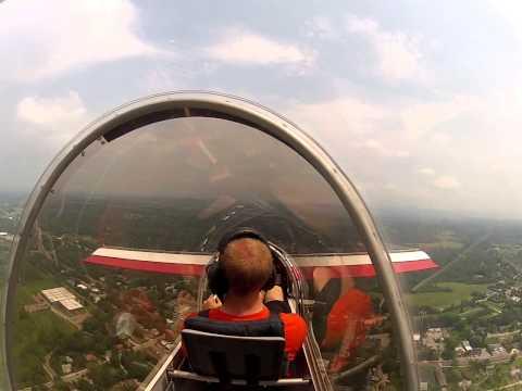 First flight in Falcon XP
