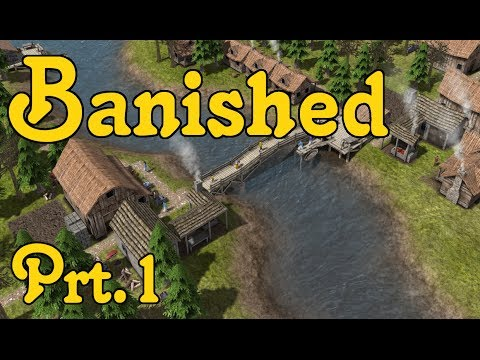 Let's Play: Banished [Hard] - Part 1 - New Settlement