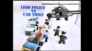 LEGO POLICE VS CAR THIEF
