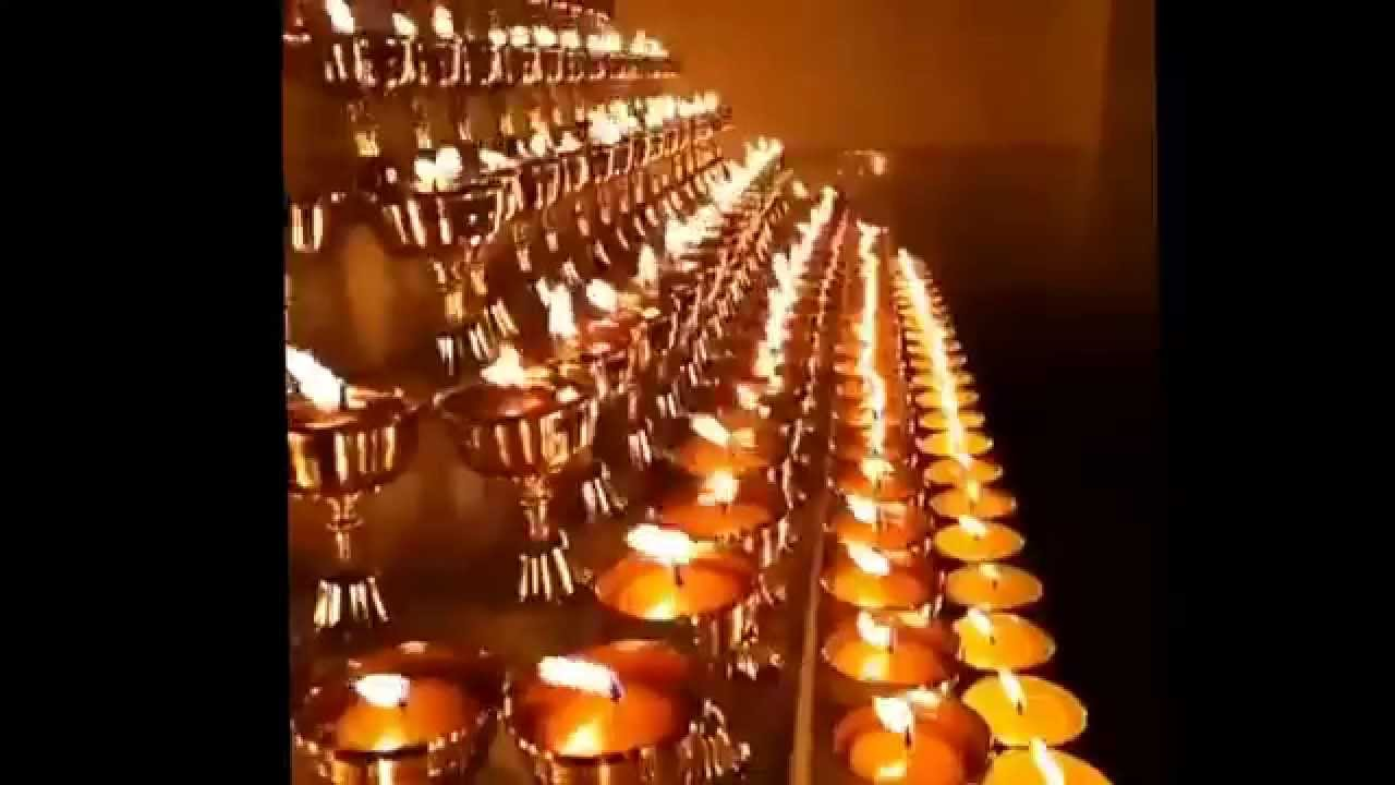 Butter Lamp offering - YouTube