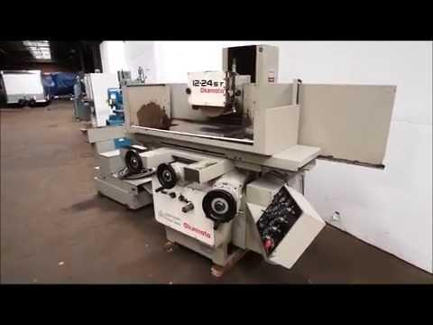 Okamoto ACC 1224 ST Hydraulic Surface Grinder on