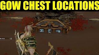 How To Open All Of The Chest In Niflheim (ivaldis Workshop *Hidden Chest* God Of War Ps4)
