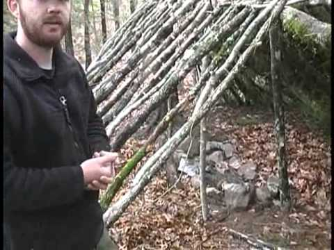 Survival Shelters Double Lean To Youtube