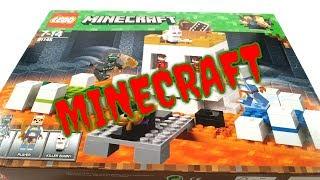 Lego Minecraft 21145 БІЙ на Арені-черепі!