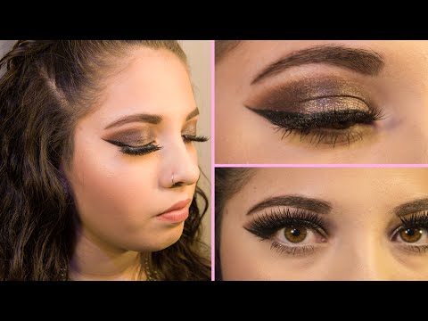 a111219d41d EASY How to Apply False Lashes Tutorial ! Using Vegas Nay Grand Glamor