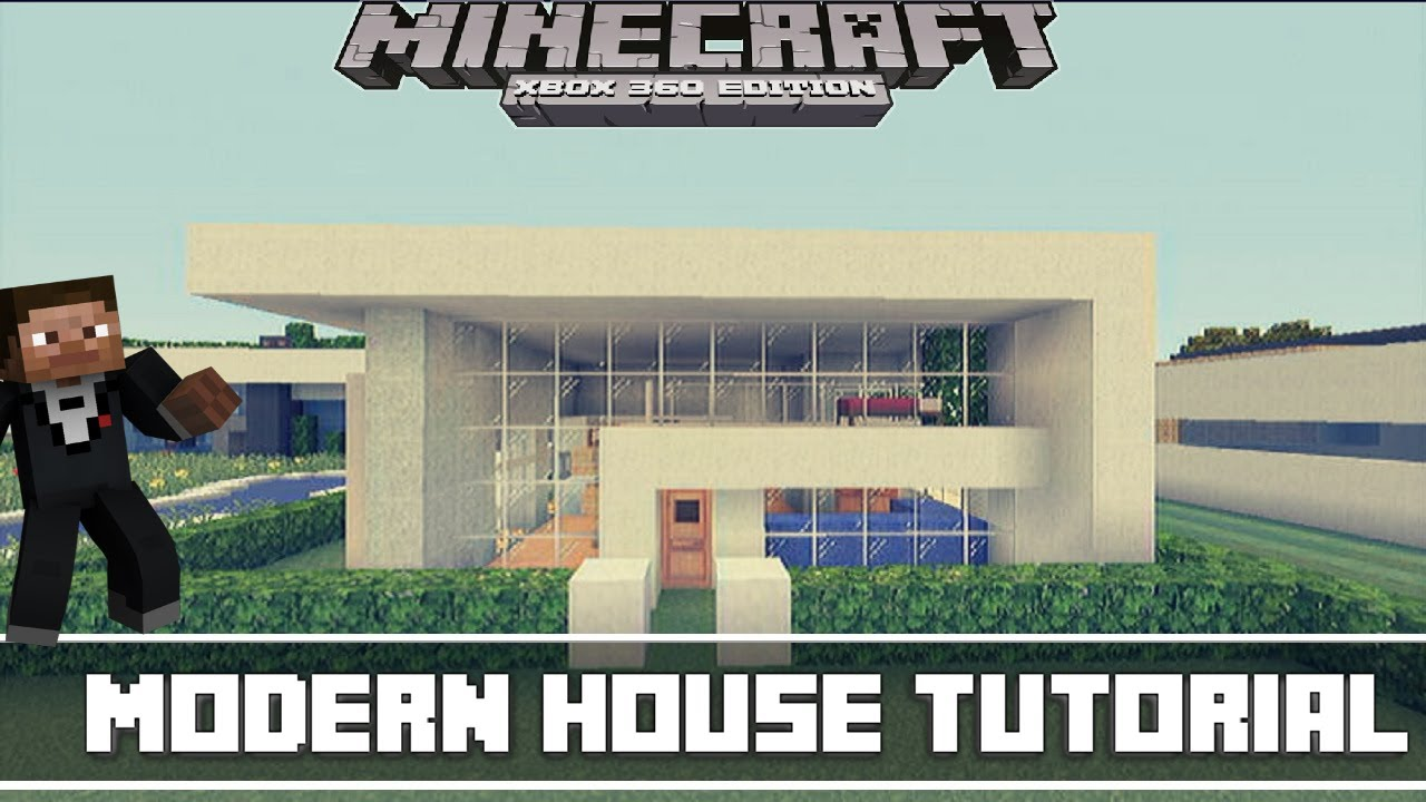 Minecraft Xbox 360 Small Modern House Tutorial YouTube