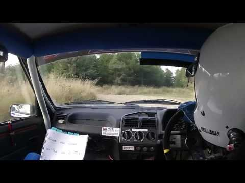 Emily & Eliot Retallick Trackrod Forest Stages Rally 2016 SS4 Dalby Peugeot 205 RF1.4