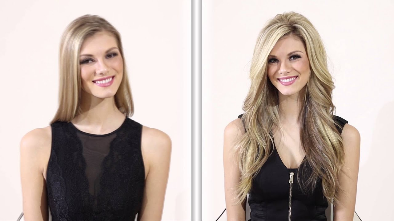 The lauren ashtyn collection before and after hair topper hair the lauren ashtyn collection before and after hair topper hair extension tutorial video youtube pmusecretfo Image collections
